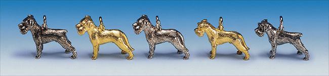 Hundeschmuck Anhänger Schnauzer